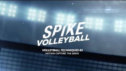 Vid�o : Spike Volleyball - Motion Capture du service
