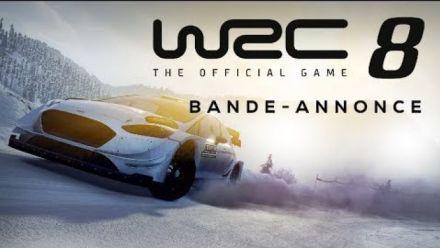 WRC 8 s'annonce en vidéo
