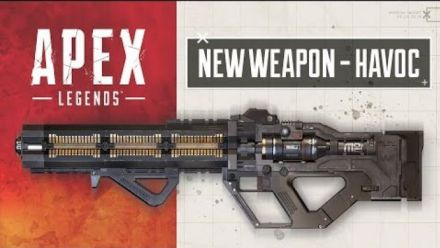 Apex Legends New Weapon - The Havoc Energy Rifle