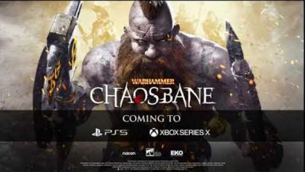 Vid�o : Warhammer: Chaosbane - PS5 and Xbox Series X