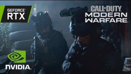 vid�o : Call of Duty: Modern Warfare | Official GeForce RTX Ray Tracing Reveal Trailer
