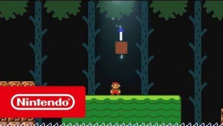 Vid�o : Super Mario Maker 2 : Mise à jour avec la Master Sword