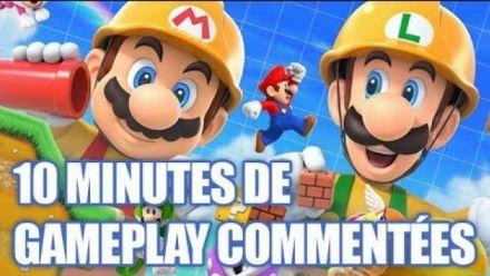 Super Mario Maker 2 : Nos 10 minutes de gameplay commentées