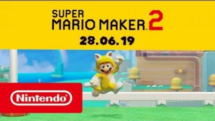 Super Mario Maker 2 : Trailer date de sortie