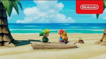 The Legend of Zelda Link's Awakening : Publicité japonaise #1