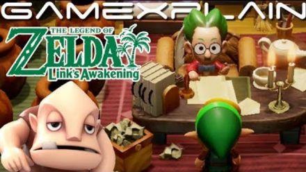 Link's Awakening : Gameplay de GameXplain