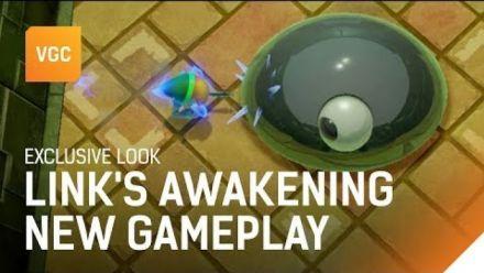 Link's Awakening : 10 minutes de gameplay VGC