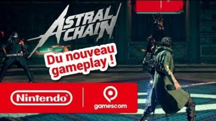 Gamescom 2019 : du gampelay inédit pour Astral Chain