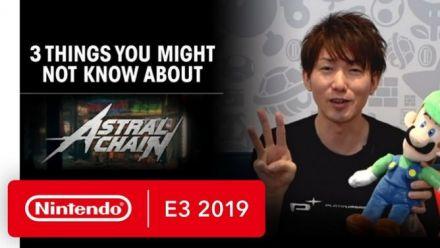 E3 2019 : Takahisa Taura parle d'Astral Chain
