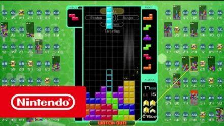 Vid�o : Tetris 99 : Trailer du DLC Big Block