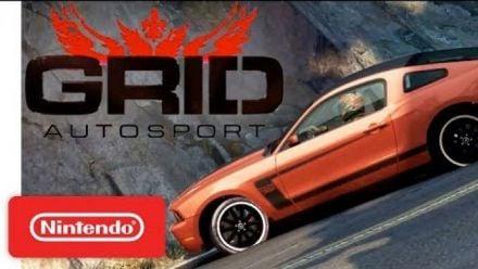 Vid�o : GRID Autosport - Trailer Switch du Nintendo Direct 13/02/2019