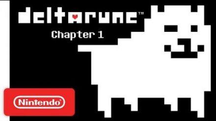 Vidéo : Deltarune Chapter 1 - Bande-annonce Switch