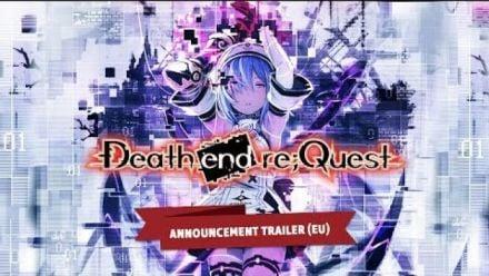Death end re;Quest Announcement Trailer (EU)