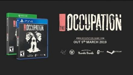 Vid�o : The Occupation : Gameplay trailer