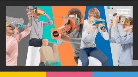 Vid�o : Nintendo Labo : kit VR - bande-annonce de lancement