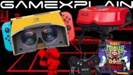 Vid�o : Nintendo Labo VR Kit : Hommage au Virtual Boy