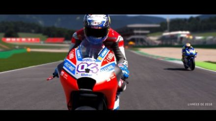 MotoGP 19 annonce sa sortie en intelligence neuronale