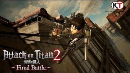 Vid�o : Attack on Titan 2 Final Battle : trailer d'annonce (Crunchyroll)