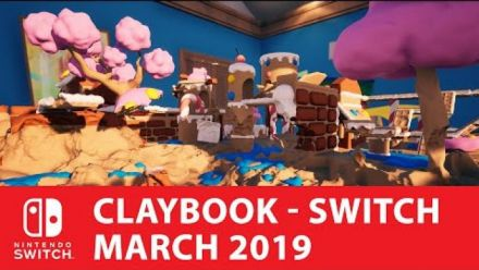 Vid�o : Claybook Trailer annonce Switch