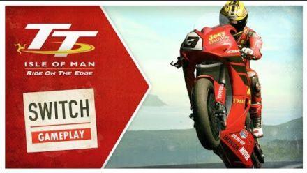 Vid�o : TT Isle of Man Switch : Date de sortie et vidéo de gameplay