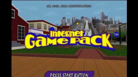 Vidéo : Internet Game Pack : Gameplay du jeu Dreamcast annulé