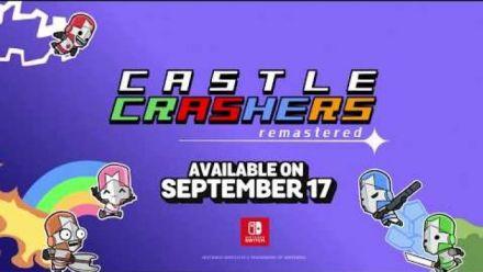 Vidéo : Castle Crashers : Trailer de sortie sur Switch