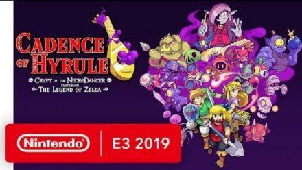 Vid�o : Cadence of Hyrule: Crypt of the NecroDancer Ft. The Legend of Zelda - Nintendo E3 2019