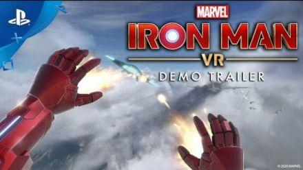 Vid�o : Iron Man  VR Démo