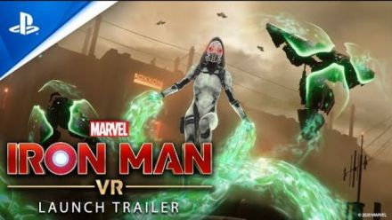 Vid�o : Marvel's Iron Man VR - Launch Trailer | PS VR