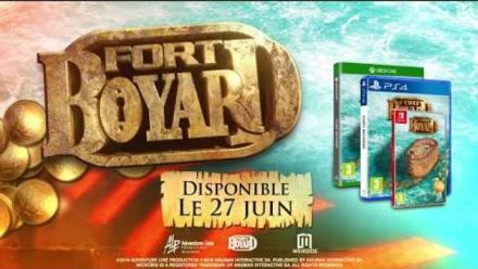 Vidéo : Fort Boyard le jeu : trailer de lancement