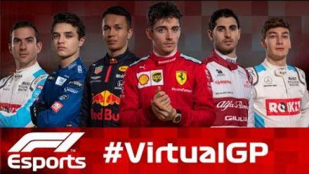 vidéo : LIVE: F1 Virtual Grand Prix 5 avril 2020