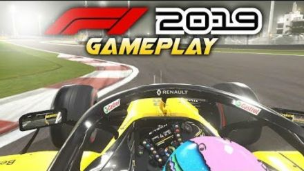 vidéo : F1 2019 Gameplay Ricciardo Renault Onboard at Bahrain