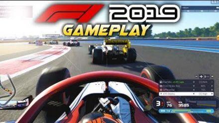 vidéo : F1 2019 Race at FRANCE with Kimi Räikkönen (Alfa Romeo)