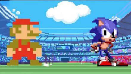 Vidéo : Mario & Sonic Tokyo 2020 : Trailer 2D Gamescom 2019