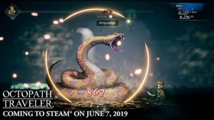 Vid�o : Octopath Traveler : Annonce Steam