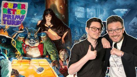 Vidéo : Super Retro Prime Turbo : Julo et Plume vous invitent au Shufflepuck Cafe