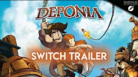 Deponia : Trailer lancement Switch
