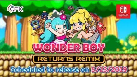 Vidéo : Wonder Boy Returns Remix : Trailer Switch