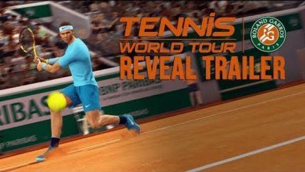 Vidéo : Tennis World Tour Roland Garros Edition Trailer