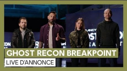 GHOST RECON BREAKPOINT - Live d'annonce [OFFICIEL] VOSTFR HD