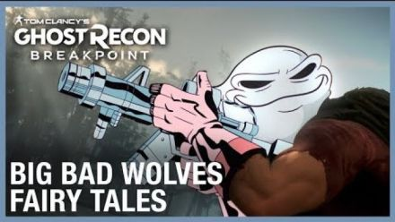 Ghost Recon BReakpoint : Trailer cartoonesque