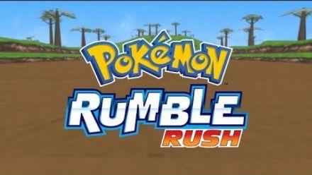 Vidéo : Time to start exploring in Pokémon Rumble Rush!