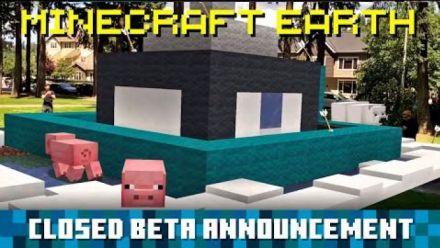 Vidéo : Minecraft Earth : annonce de la Bêta fermée