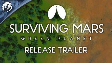 Vidéo : Surviving Mars : Green Planet, le trailer de lancement