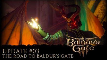 vidéo : Baldur's Gate 3 Community Update #3 - The Road to Baldur's Gate