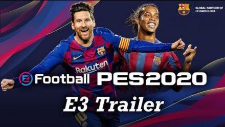 vidéo : eFootball PES 2020 : Trailer E3 2019
