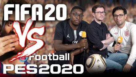Vidéo : FIFA 20 vs eFootball PES 2020, le MATCH : Rami et Alix