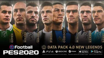 Vidéo : Data Pack 4.0 - eFootball PES 2020
