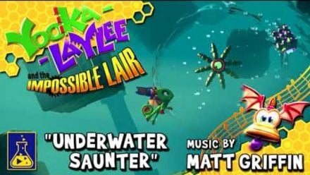 vidéo : Yooka-Laylee and the Impossible Lair : Underwater Saunter