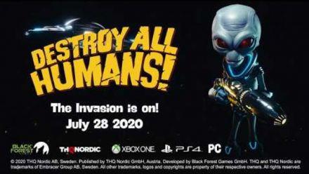 Vidéo : Destroy All Humans! - Release Date Trailer